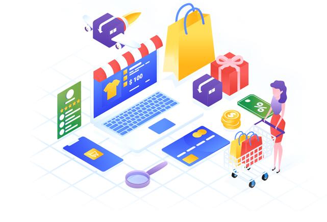 User friendly e-commerce site