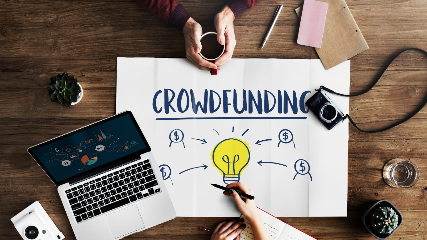 how to start an ecommerce business using crowdfunding